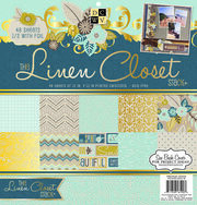 "DCWV 12""x12"" Premium Paper Stack The Linen Closet, , hi-res"