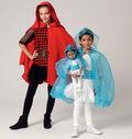 McCall\u0027s Pattern M7035-Children\u0027s/Girls\u0027/Dolls\u0027 Matching Hooded Costumes