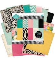 Heidi Swapp 24 Pack 6''x6'' Paper Pad-Sugar Chic, , hi-res