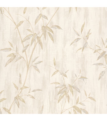 Emiko Taupe Bamboo Texture Wallpaper