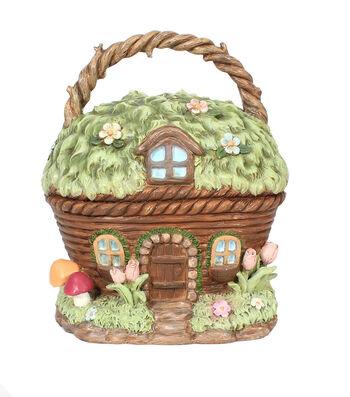 Bloom Room Easter Littles Resin Basket House