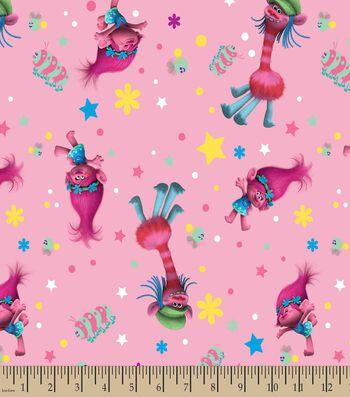 Trolls Poppy & Cooper Print Fabric