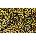Costume Suedecloth-Cheetah Tan Black Aloba Polyester Fabric
