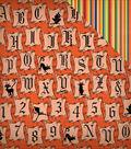 Haunted House Double-Sided Cardstock 12\u0022X12\u0022-Halloween Letters