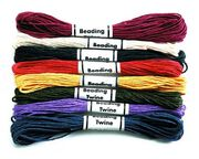 Darice® Jewelry Designer 6 ply Hemp Cord-7YDS/Multi, , hi-res