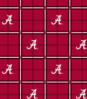 "University of Alabama Crimson Tide Flannel Fabric 42""-Plaid, , hi-res"