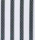Performanace Knit Fabric 58\u0022-Black and White