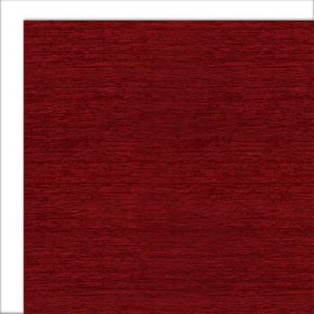 Ruggable 2pc Washable Rug System-Solid Chenille Red