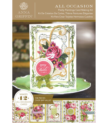 Anna Griffin Pretty Paintings Cardmaking Kit