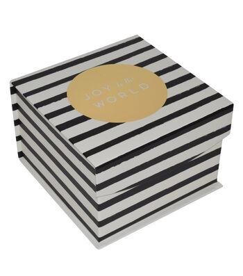 Maker's Holiday Small Mini Fliptop Box-Joy To The World
