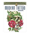 Dover Creative Haven Modern Tattoo Designs Coloring Book