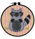 Dimensions® Learn-A-Craft Felt Applique Stitch Kit-Little Raccoon