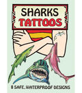 Dover Publications-Sharks Tattoos