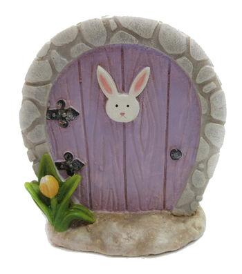 Easter Littles Polyresin Bunny Door