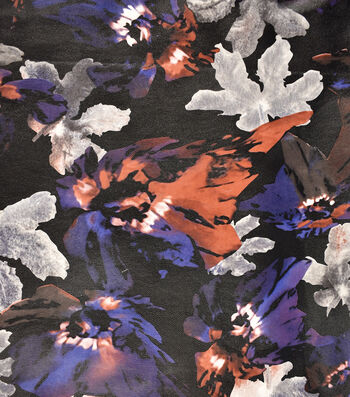 "Suedecloth Pleather Fabric 53""-Fall Floral"
