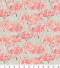 Waverly Upholstery Fabric 54\u0022-Beach Social Bloom