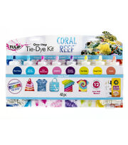 Tulip® One-Step Tie-Dye Kit-Coral Reef, , hi-res