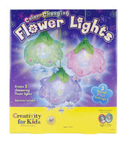 Creativity For Kids ColorChanging Flower Lights Kit, , hi-res