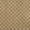 Canvas Corp Tile Printed Burlap Sheet