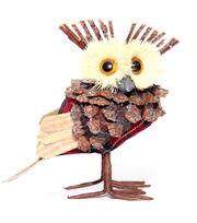 Blooming Holiday Natural Owl, , hi-res