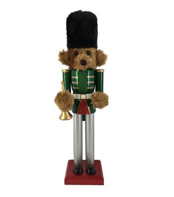 Maker's Holiday Christmas 15'' Bear Nutcracker