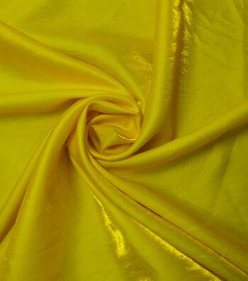 Yaya Han Cosplay Dual Fantasy Dupione Fabric 57''-Yellow & Gold