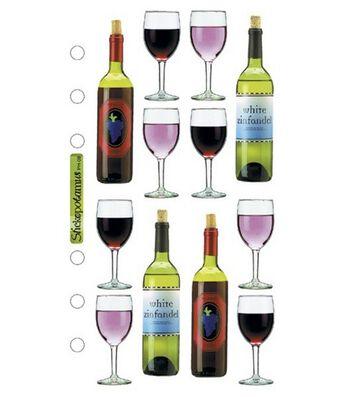 Sticko Stickers-Wine