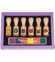 Melissa & Doug Happy Handle Stamp Set, , hi-res