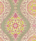 Waverly Print Fabric 54\u0022-Moonlit Medallion/Passion