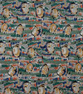 Alexander Henry Cotton Fabric 44\u0022-Geana Sage Multi