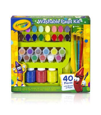 Crayola Washable Kid's Paint Kit-30pc