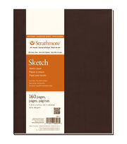 "Strathmore Soft Cover Sketch Journal Book With 160 Pages 7.75""x9.75"", , hi-res"