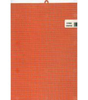 "Plastic Canvas 7 Count 10""X13""-Orange, , hi-res"