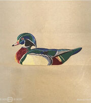 Square By Design® Woven Fabric 25''-Wood Duck, , hi-res