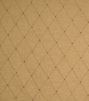 "Jaclyn Smith Print Fabric 54""-Jasso /Caramel"
