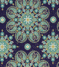 Two Daughters™ Premium Quilt Cotton Fabric 43\u0022-Peacock Medallions