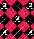 University of Alabama Crimson Tide Fleece Fabric 58\u0022-Argyle
