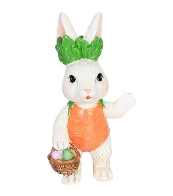 Easter Littles Resin Bunny with Egg Basket