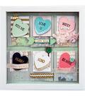 Sizzix® Framelits™ Dies with Stamps -My Valentine