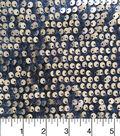 Casa Embellish Sequined Velvet Fabric 59\u0022-Gold Sequin