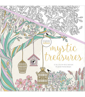 Kaisercraft KaiserColour Perfect Bound Coloring Book-Mystic Treasures