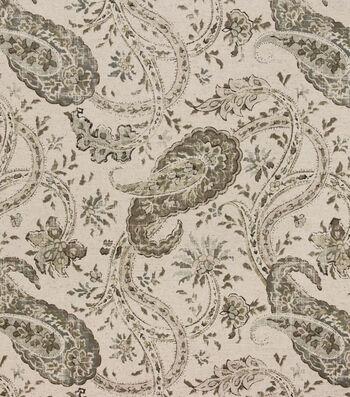 Hudson 43 Print Fabric-Namaste Pewter