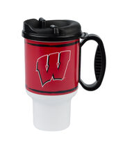 University of Wisconsin 20oz Travel Mug, , hi-res