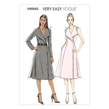 Vogue Patterns Misses Dress-V8992