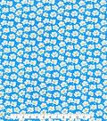 Made In America Cotton Fabric 44\u0027\u0027-Daisy on Blue