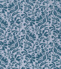 Keepsake Calico™ Cotton Fabric 43\u0022-Tonal Floral Gray