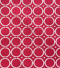 Keepsake Calico™ Cotton Fabric-Circle Chain Fuchsia/White