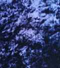 Crushed Velvet Blue Print