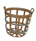 Fall Into Color Thanksgiving Large Bamboo Basket