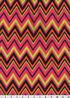 Micro Fleece Fabric 59\u0022-Neon Chevron Print